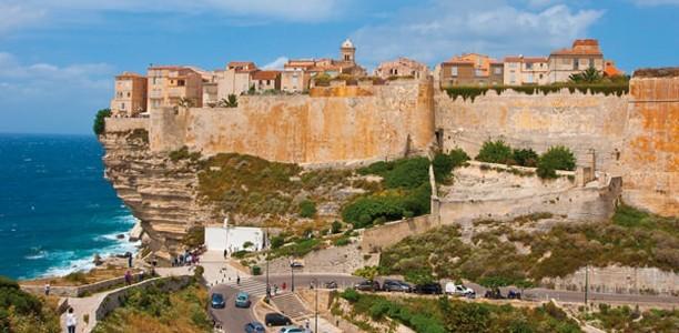 Bonifacio in der Region Porto Vecchio
