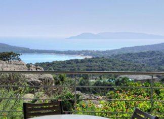 Korsika Ferienwohnung Strand Panorama
