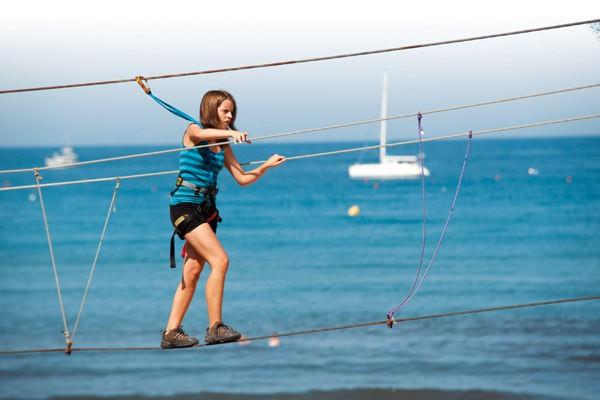 Abenteuerparks auf Korsika