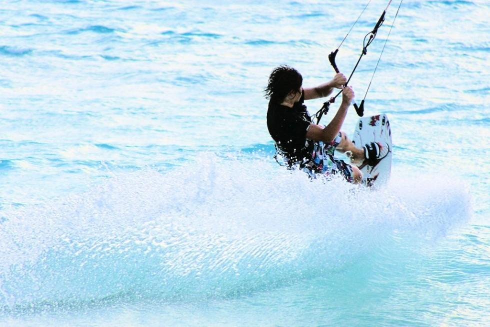 Kitesurfen auf Korsika