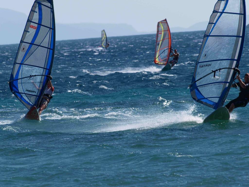 Windsurfen auf Korsika