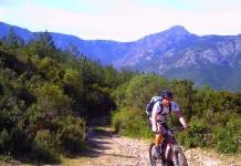 Mountainbiketour im Wald von Bonifato