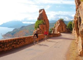 Panorama-Radtour in der Calanche