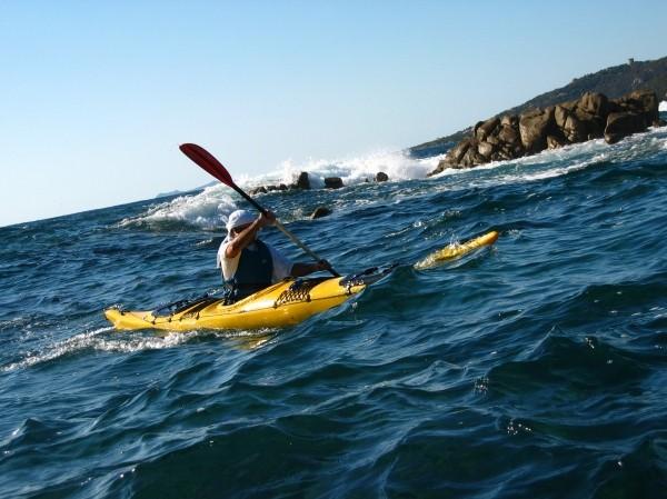 Kajak auf Korsika