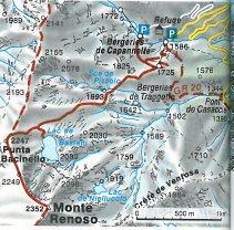 Monte Renoso_karte