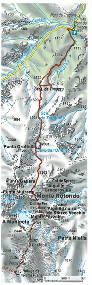 Monte Rotondo_karte
