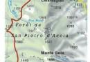 Monte San Petrone_karte