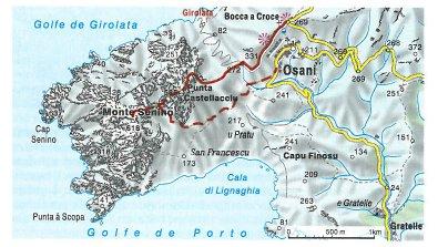 Monte Senino_karte