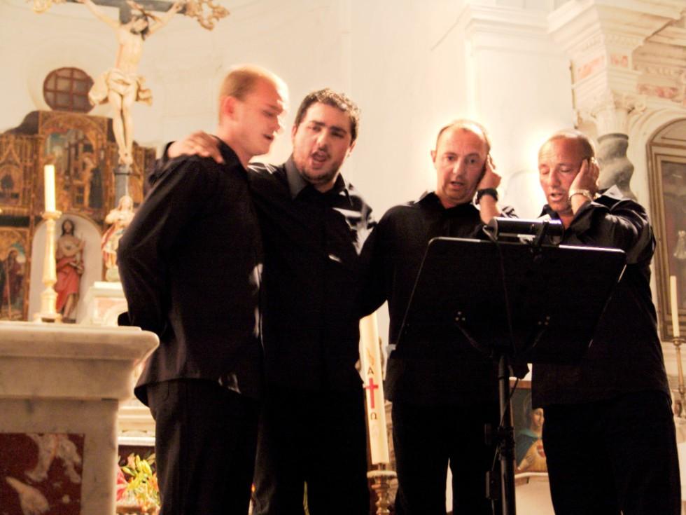 Männerchor auf Korsika