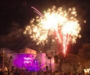 Feuerwerk auf Korsika