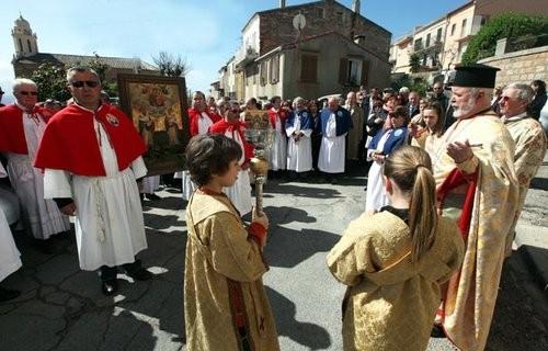 Prozession auf Korsika