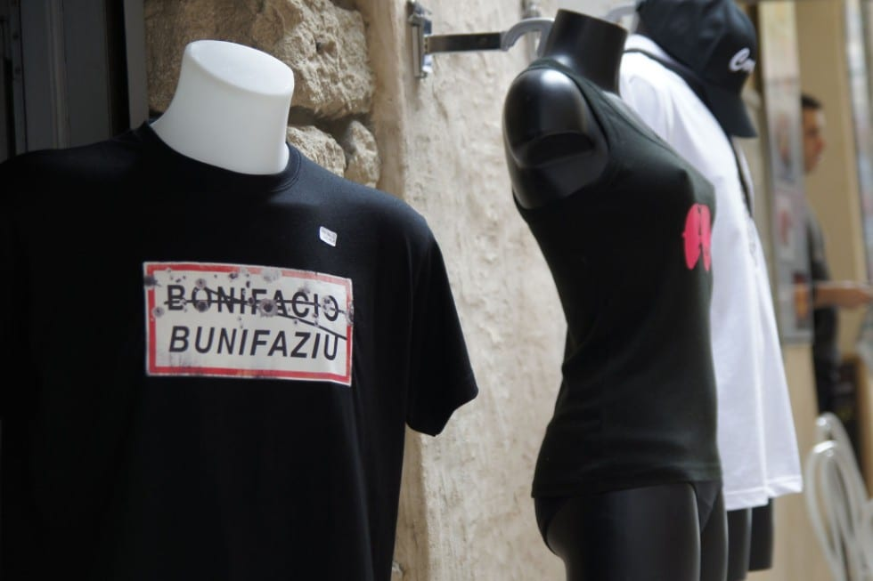 T-Shirt mit Straßenschild
