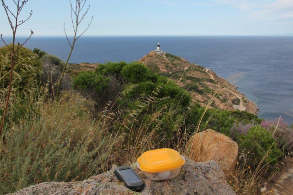 Geocaching Korsika
