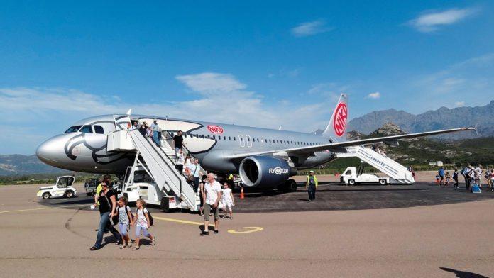 Korsika Flug Fly Niki