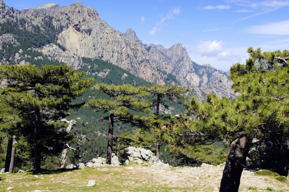Bavella-Gebirge