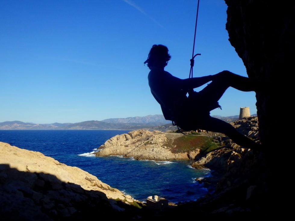 Klettern in Ile Rousse