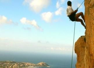 Klettern über Calvi