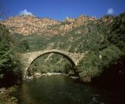 Genuesische Brücke in der Spelunca-Schlucht