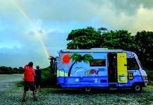 Campingwagen auf Korsika