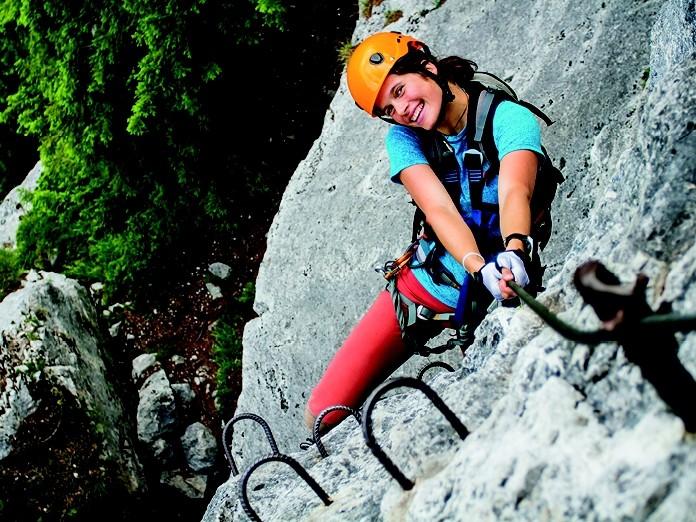 Klettersteig Urlaub : Der hoachwool klettersteig in naturns klettern südtirol
