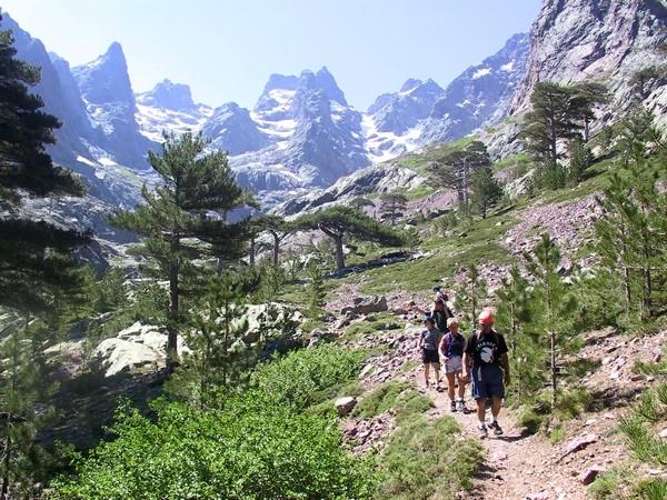 Wandern im Asco Tal