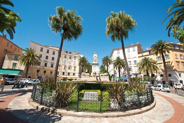 Ajaccio Stadtzentrum
